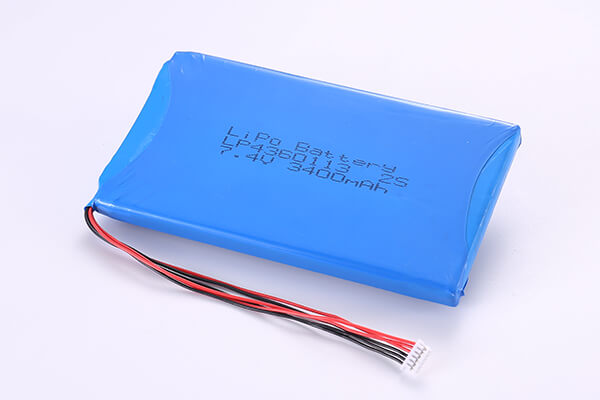 Hot Selling Rechargeable Lithium Polymer Batteries LP4360113 2S 3400mAh 25.16Wh