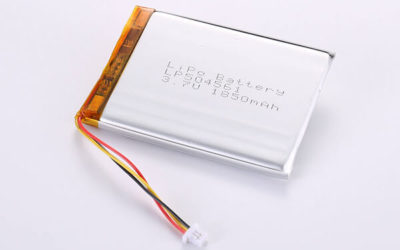 Rechargeable Lithium Polymer Batteries LP504561 3.7V 1850mAh with 6.845W