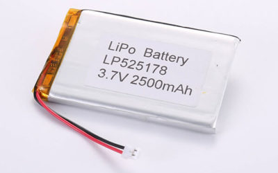 Standard lithium polymer batteries LP525178 2500mAh with 9.25Wh