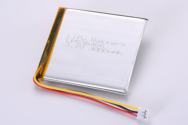 Hot Selling Rechargeable Lithium Polymer Batteries LP536466 3000mAh 11.1Wh