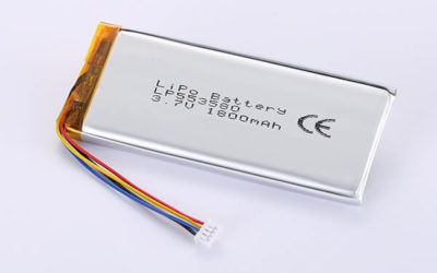 Hot Selling Lithium Polymer Batteries LP553580 1800mAh 6.66Wh