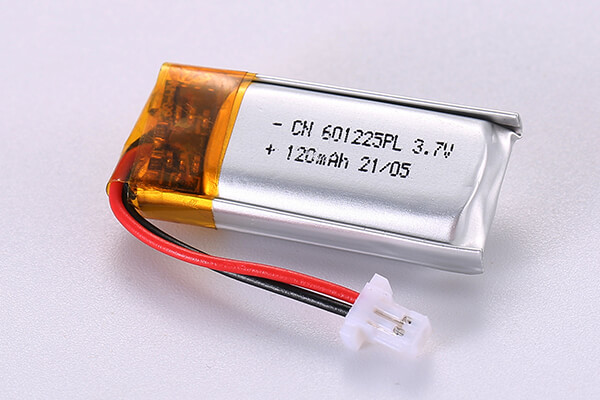 Hot Selling Standard Lithium Polymer Batteries LP601225 120mAh 0.444Wh