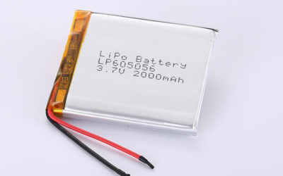 Hot Selling Lithium Polymer Batteries LP605056 2000mAh 7.4Wh