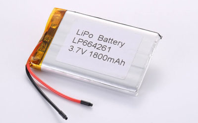 Hot Selling Lithium Polymer Batteries LP664261 1800mAh 6.66Wh