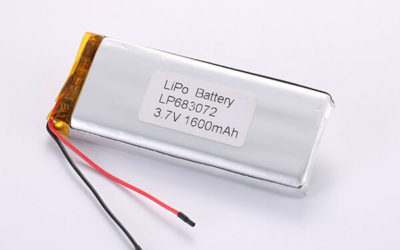 Hot Selling Lithium Polymer Batteries LP683072 1600mAh 5.92Wh