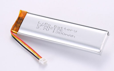 Hot Selling Lithium Polymer Batteries LP702176 1300mAh 4.81Wh