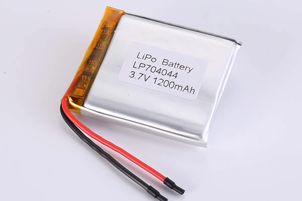 Hot Selling Lithium Polymer Batteries LP704044 1200mAh 4.44Wh