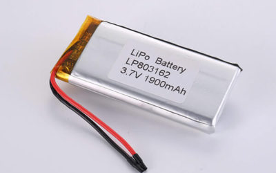 Hot Selling Lithium Polymer Batteries LP803162 1900mAh 7.03Wh