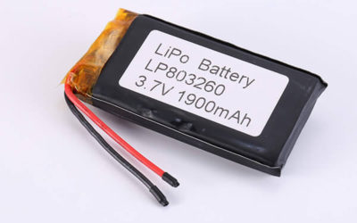 Hot Selling Lithium Polymer Batteries LP803260 1900mAh 7.03Wh