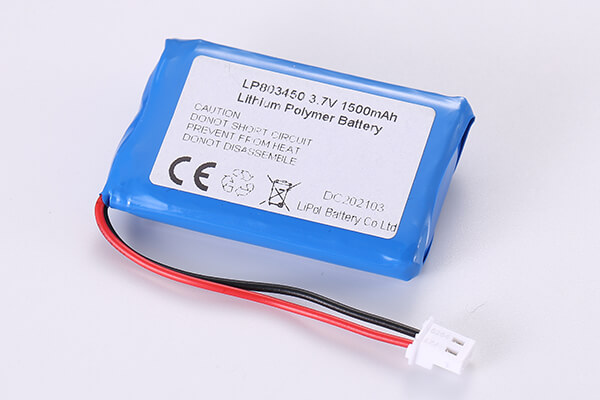 Hot Selling Lithium Polymer Batteries LP803450 1500mAh 5.55Wh