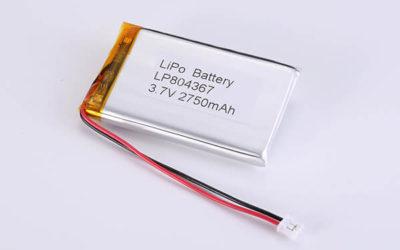 Hot Selling Lithium Polymer Batteries LP804367 2750mAh 10.175Wh