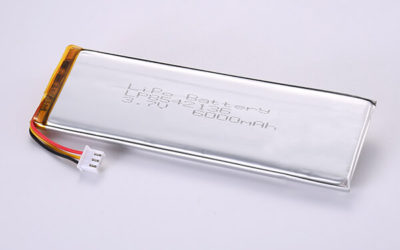 Standard Rechargeable Hot Selling Lithium Polymer Batteries LP8542136 6000mAh 22.2Wh