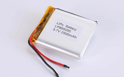 Hot Selling Lithium Polymer Batteries LP855055 2500mAh 9.25Wh