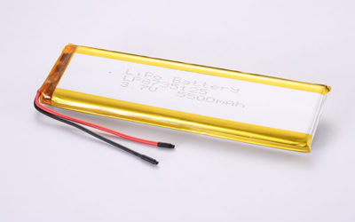 Standard Rechargeable Hot Selling Lithium Polymer Batteries LP8735125 5500mAh 20.35Wh