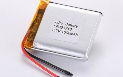Hot Selling Lithium Polymer Batteries LP953743 1500mAh 5.55Wh
