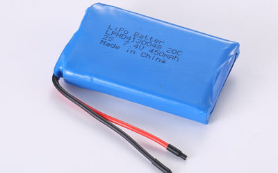 Rechargeable Hot Selling Lithium Polymer Batteries LPHD4130048 20C 2S 450mAh 3.33Wh