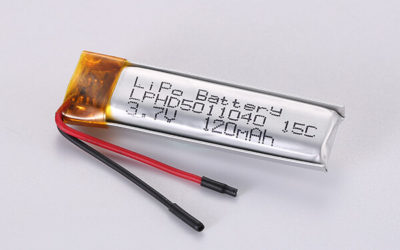 Hot Selling Standard Lithium Polymer Batteries LPHD5011040 15C 120mAh 0.444Wh