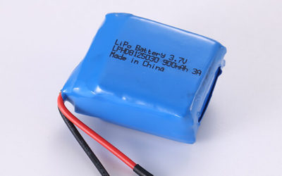 Standard Rechargeable Hot Selling Lithium Polymer Batteries LPHD8125030 3A 900mAh 3.33Wh