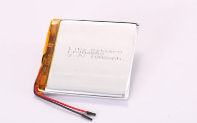 3.7V Hot Selling Multipurpose Rechargeable Lithium Polymer Batteries LP484850 1000mAh 3.7Wh