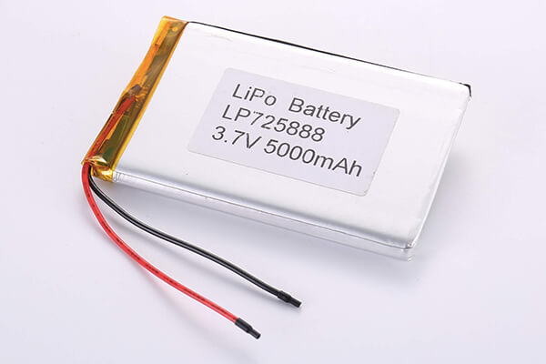 Hot Selling Multipurpose Rechargeable Lithium Polymer Batteries LP725888 5000mAh 18.5Wh