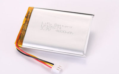 Hot Selling Multipurpose Rechargeable Lithium Polymer Batteries With JST XHP-3 LP105274 4800mAh 17.76Wh