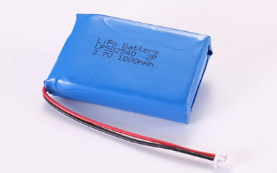 3.7V Hot Selling Multipurpose Rechargeable Lithium Polymer Batteries With Molex 51021-0200 LP502540 2P 1000mAh 3.7Wh