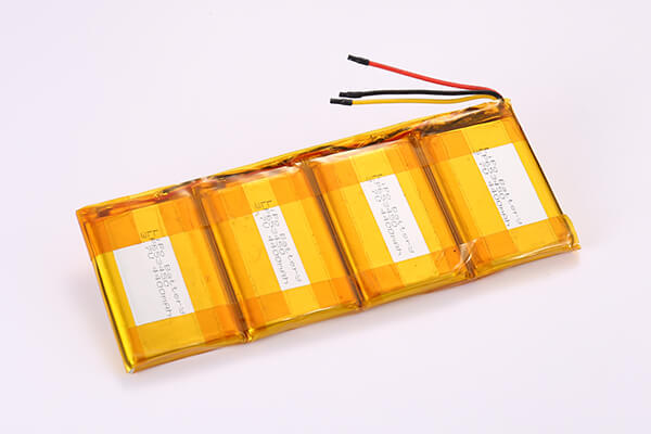 Lithium Polymer Batteries With NTC 4P LP653450 17600mAh