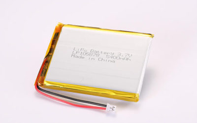 Hot Selling Multipurpose Rechargeable Lithium Polymer Batteries with JST PHR-2 LP105878 5400mAh 19.98Wh