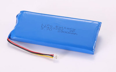 3.7V Rechargeable Hot Selling Lithium Polymer Batteries with Molex 51021-0300 LP423282 2900mAh 10.73Wh