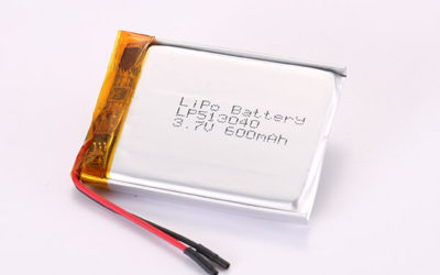 3.7V Rechargeable Lithium Polymer Batteries LP513040 600mAh