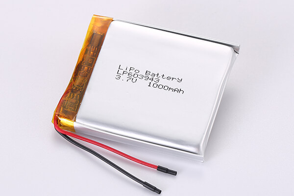 Cell Manufacturer Rechargeable Lithium Polymer Batteries LP603943 1000mAh 3.7Wh