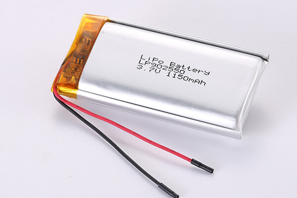 Cell Manufacturer Rechargeable Lithium Polymer Batteries LP902550 1150mAh 4.255Wh