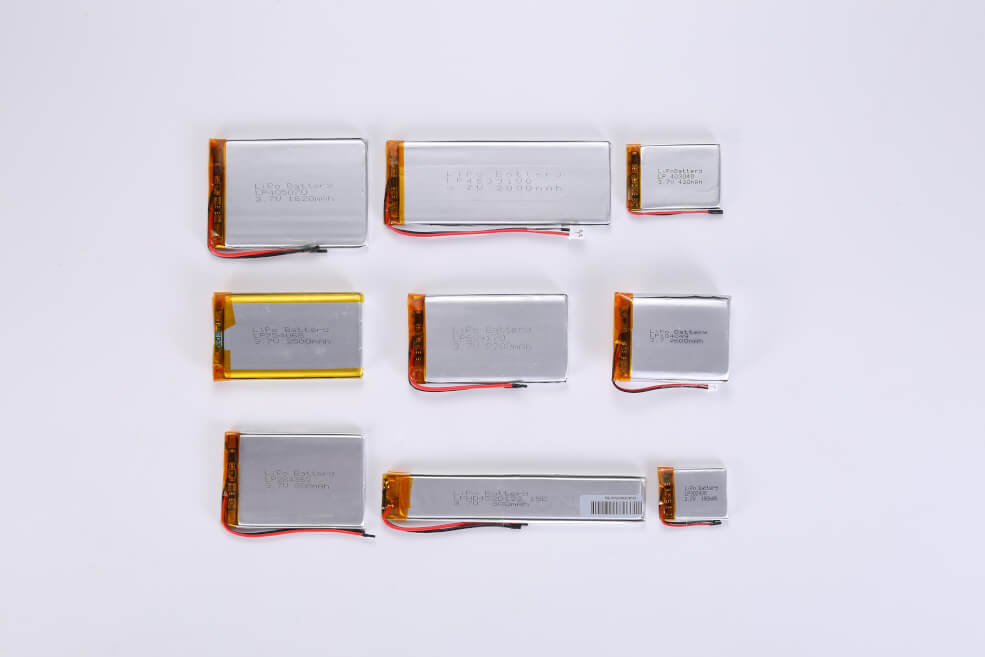 Rechargeable LiPo Batteries Manufactury