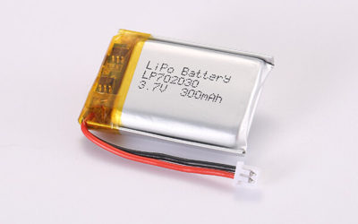 3.7V Rechargeable Hot Selling Lithium Polymer Batteries With Molex 51021-0200 LP702030 300mAh 1.11Wh
